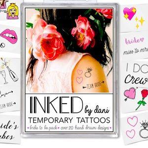 👰♀️💎 NWT • 💍Bride Temp Tattoos 🥂 • 20+👰♀️💎